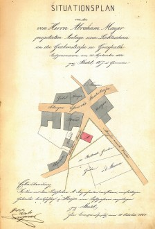 Am Graben 1860