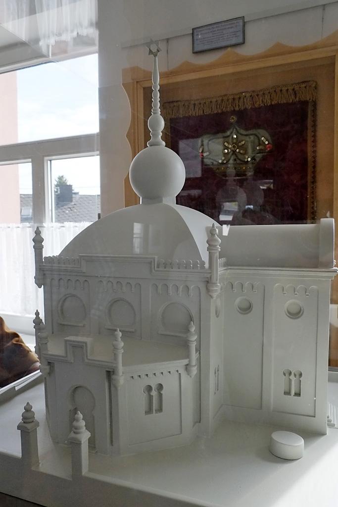 Modell der Synagoge von Hamm/Sieg