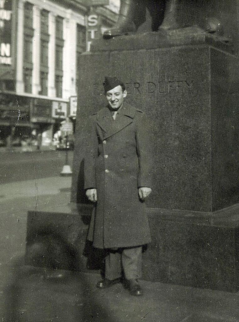 Harry Tobias in New York