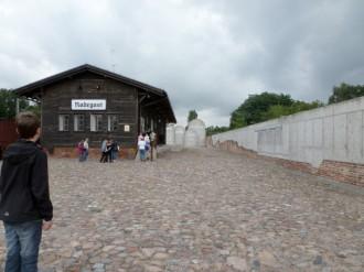 Gedenkstätte Bahnhof Radegast, Lodz, Juli 2012