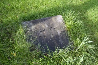 Grave stone for Asser Wolf, Terborg