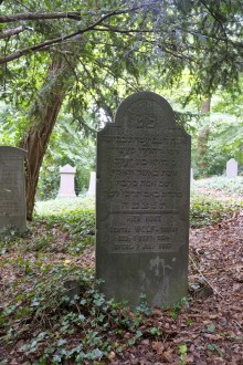 Gravestone of Bertha Tobias Wolf in Terborg