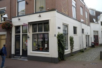 Former coffee house of the Cohen family in Arnhem, Wielakkerstraat