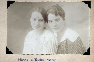 Minna and Ricka Marx