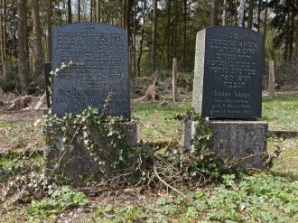 Graves of Karoline and Tobias Tobias in Puderbach